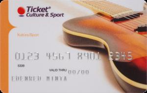 Edenred Kultúra és Sport kártya