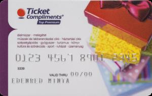 Edenred Ajándék- és Bevásárló kártya